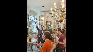 Art Tea Shop Réouverture avec les étudiants !