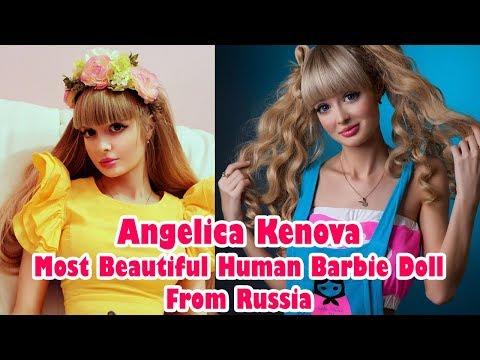Angelica Kenova Most Beautiful Human Barbie On Earth
