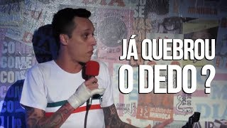 QUEBREI O DEDO - NIL AGRA - STAND UP COMEDY