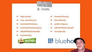 Hostpapa vs Bluehost Review