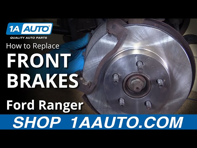 How to Replace Front Brakes 95-02 Ford Ranger | 1A Auto