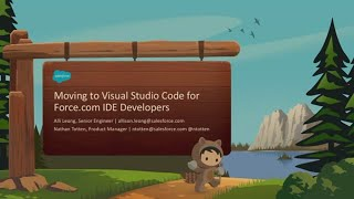 Moving to Visual Studio Code for Force.com IDE Developers