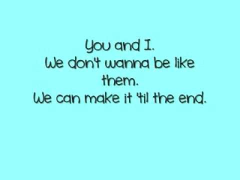 You and I - One Direction - Lyrics