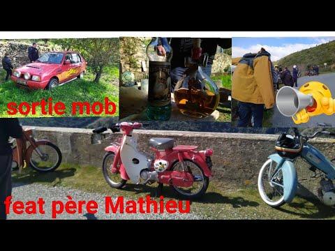 MBK 51 Magnum , Sortie Mobylette Feat Père Mathieu ⛪🙏