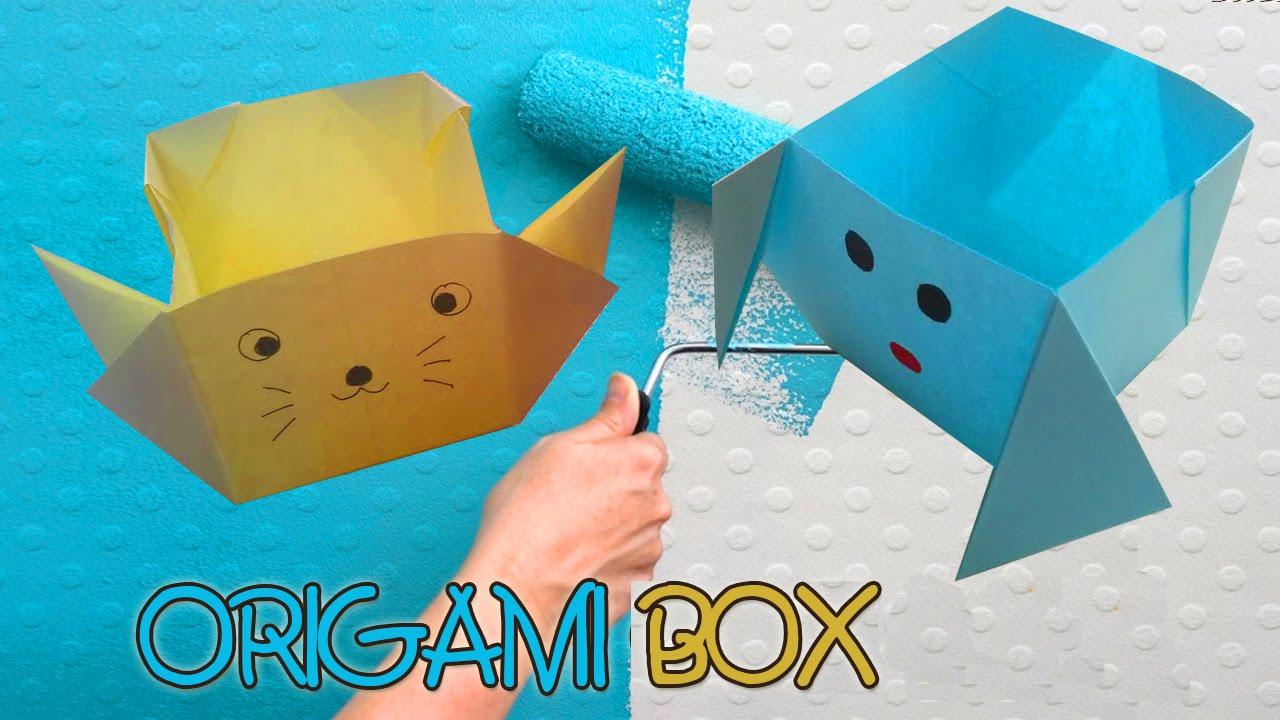Origami Cat Heart Tutorial - Origami Heart Pocket | Origami cat ... | 720x1280