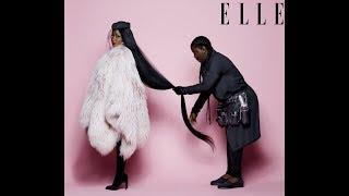 Chrissie - Sneaky Anti-Dark Skinned Woman Media Messages - Elle Magazine, Nicki Minaj, Kim Kimble