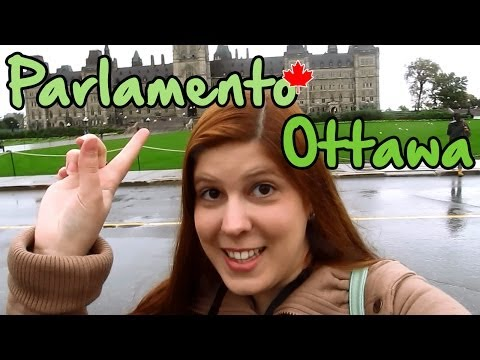 PARLAMENTO Em OTTAWA - Capital Do Canadá - Legendado