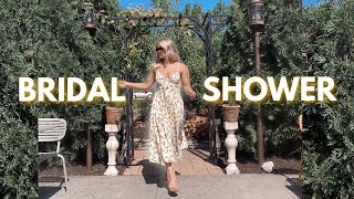 MAKEUP, HAIR & OUTFIT: Get Ready With Me For My Bridal Shower