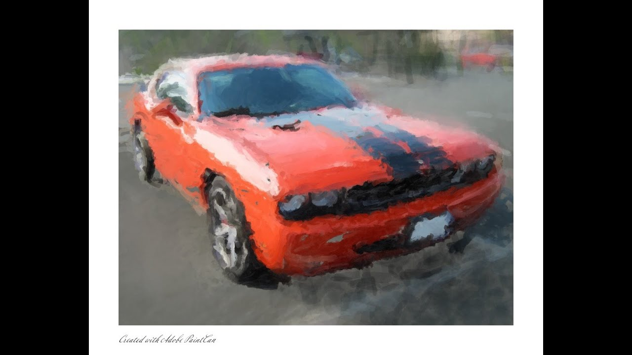 How to draw dodge challenger rt 2011 - Drawing Dodge Challenger