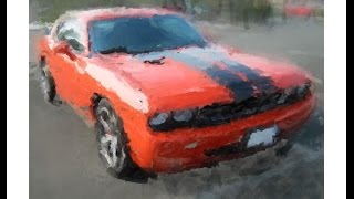 Drawing Dodge Challenger