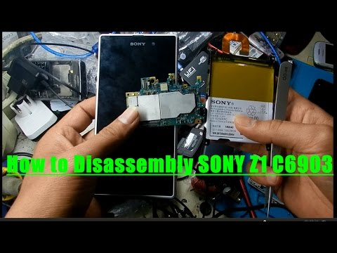 How to Disassembly SONY Z1 C6903