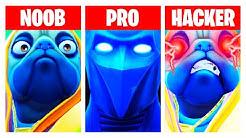 Dieses Video hat den Titel NOOB vs. PRO vs. HACKER, weil die Map so heißt, danke LG ☆ Fortnite