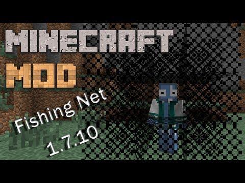 Minecraft Mods : KingCore | Fishing Nets | 1.7.10 /1.7.2 | ITA