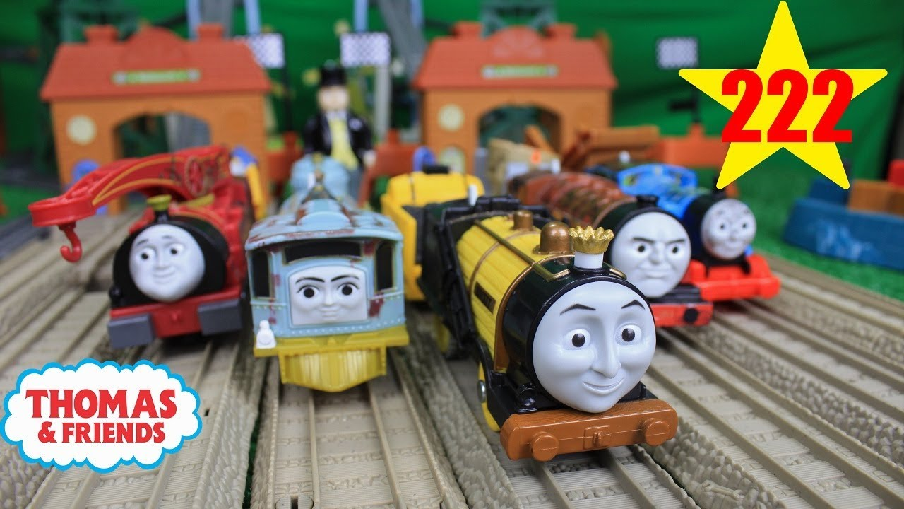 Thomas And Friends The Great Race 222 Trackmaster Runaway