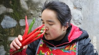 苗大姐炒鸡胗,花花绿绿看着好吃,麻麻辣辣大口吃饭