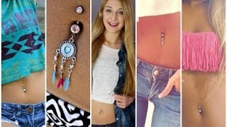 All About My Belly Button Piercing! ♡