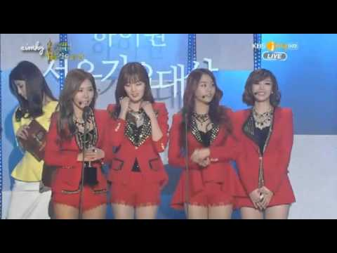 130131 Secret Epik High F(x) Bonsang Seoul Music Award