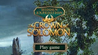 Hidden Expedition 7: The Crown of Solomon Gameplay   HD 720p