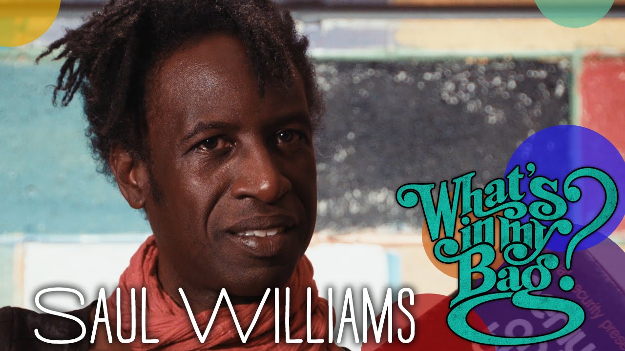 Saul Williams | What's In My Bag?