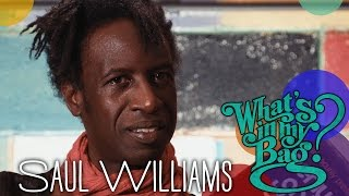 saul williams whats in my bag?
