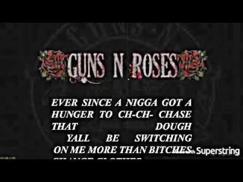 JR JEWLZ – GunsNRoses- Civil War Remix  TOO RAW FOR THE RADIO