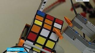 В Краснодаре проходят соревнования роботов