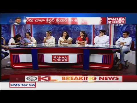 Gabbar Singh Gang Fires On Sri Reddy In Live Debate | #PTM