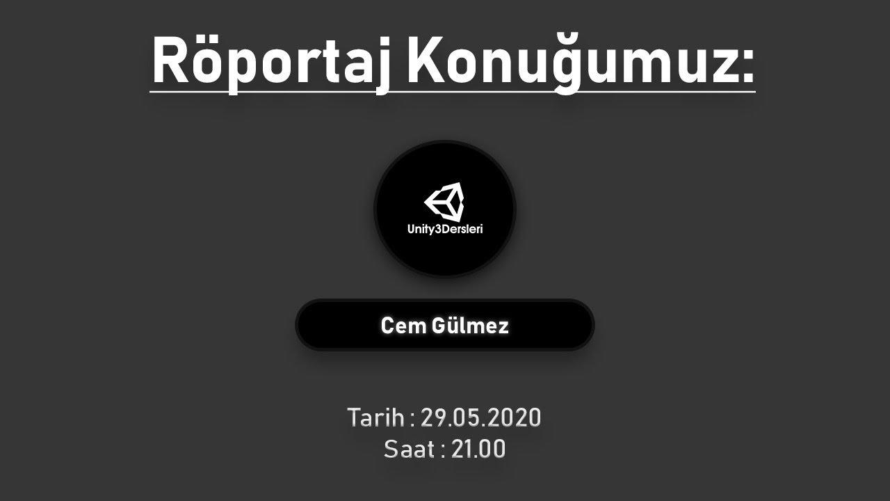 Unity3D Türkiye Röportajı - Sektör ile Alakalı Sorular - Yeni Başlayanlara Tavsiyeler