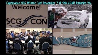 Experience SCG Winter C๐n December 2018! Roanoke VA