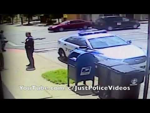Officer Attacked With Flag