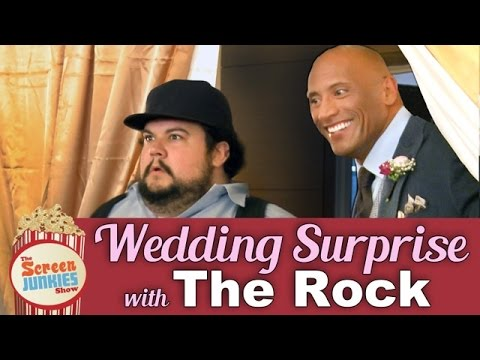 When The ROCK Does Your Wedding #HappyFriday