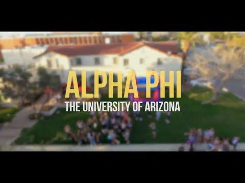 University of Arizona Alpha Phi Recruitment 2016