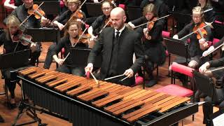 Conducting with four batons