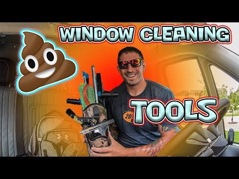CRAP WINDOW CLEANING TOOLS I'LL NEVER BUY AGAIN