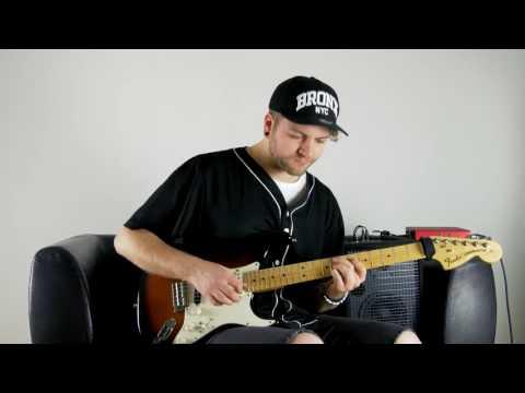 Bruno Mars - 24k Magic guitar cover (chords & solo) - Riky Perin
