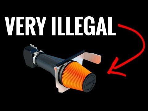 10 Car Mods BANNED in America!