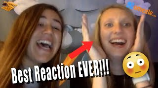 BEST Omegle reaction EVER!!!