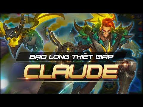 CLAUDE BẠO LONG THIẾT GIÁP   MOBILE LEGENDS BANG BANG VIỆT NAM thumbnail