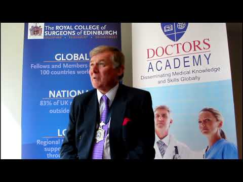 International Medical Summer School Feedback From President, Royal College of Surgeons