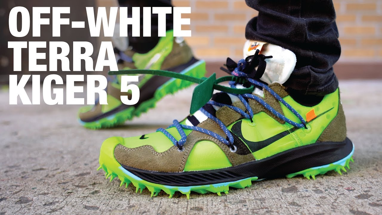 huge discount dbf47 e28f7 OFF WHITE Nike Zoom Terra Kiger 5 Review & On Feet