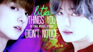 BTS ~ Things You Didn't Notice In DNA Music Video / Fangirl ver.