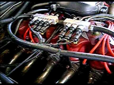 Ford Falcon VCT Tickford    Engine    Destroyed By Beaurepaires