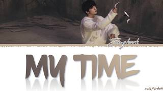 Gambar cover BTS JUNGKOOK - 'MY TIME' Lyrics [Color Coded_Han_Rom_Eng]
