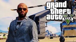 GTA 5 (PC) - Gameplay Walkthrough - Mission #76: Sidetracked & Getaway Vehicle [Gold Medal]