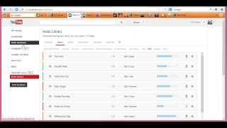 YouTube Background Music for videos Audio Library How-to