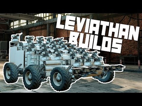 Crossout Best Builds - Leviathan Builds! - Let's Play Crosso