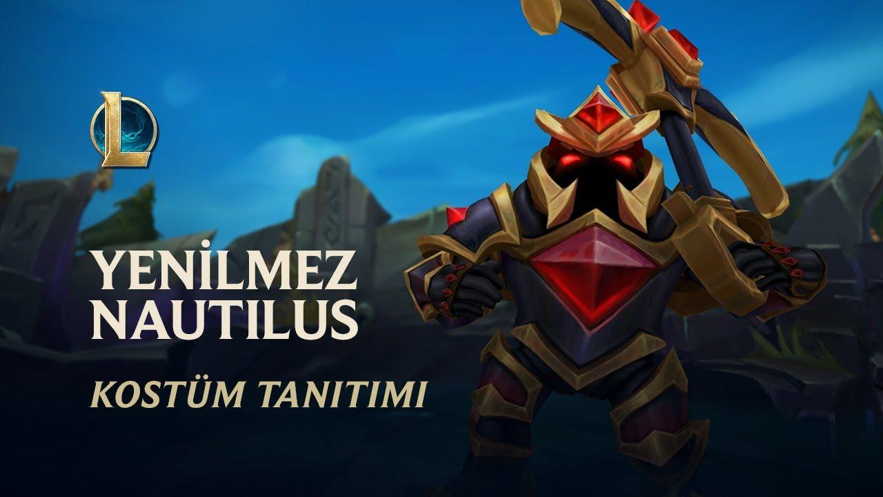Yenilmez Nautilus   Kostüm Tanıtımı - League of Legends