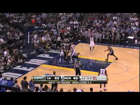 Zach Randolph playoff career-high 31pts vs. Spurs G6 (04.29.11)[17pts in the 4th Qtr]