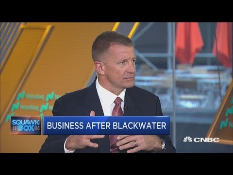 Erik Prince on his business endeavors after selling Blackwater