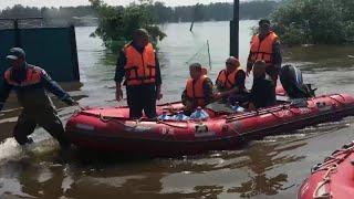 На Дальнем Востоке, где ожидают новую волну паводка, МЧС подготовило группировку 10 тысяч спасателей